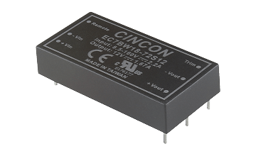 Cincon releases new DC/DC Converter EC7BW18 Series