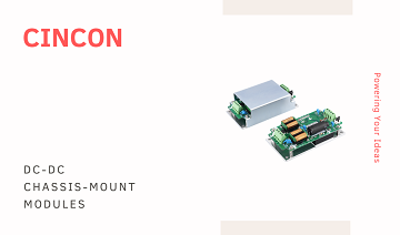 Plug-in Ready to Use DC-DC Chassis-mount modules