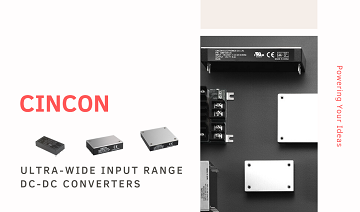 Ultra-wide Input DC/DC Converters Product Page Release