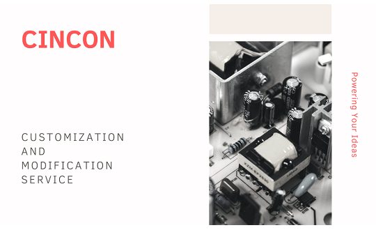 Cincon Customization and Modification Service